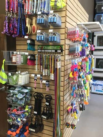 Pet Store Supplies at The Left Paw